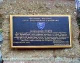 PA National Landmark World Famous Altoona, PA Horseshoe Curve Plague at entrance