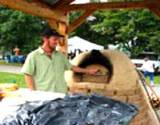 An outdoor oven at the PA Energy Festival
