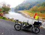 photo of 3 wheel rental bike available to tour the PA Grand Canyon