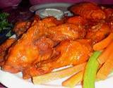 Lakemont Park's Hot Wings Contest picture of plate of hotwings