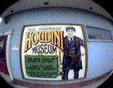 photo of an ad for the Houdini Museum