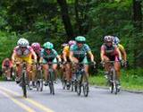PA Tour-de-Toona bike racers in the lead