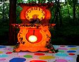 Mr. Rodgers Neighborhood Danial Stripped Tiger clock at Idlewild Park