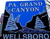 photo of sign entering PA Grand Canyon