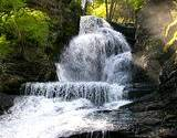 Waterfalls in the Pocono Mountains