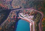 PA National Landmark Arial View of The World Famous Horseshoe Curve
