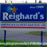 PA Historic Landmark America's Oldest Gas Station