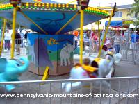 kiddie ride at Lakemont Park