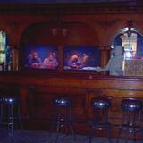 photo taken during the ghost hunt at Altoona Railroader Memorial Museum this is a replica of Kelly's Bar a very popular bar with the railroaders