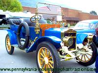 antique car at the annual car show