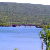 photo of the lake at Bald Eagle State Park