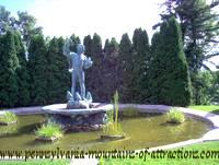 Fisher boy fountain