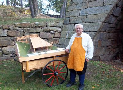 Mt. Vernon Iron Furnace Historian, Jim Whetsel