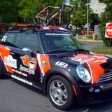 car owned by Tour-de-Toona racer