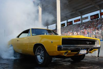 Carlisle All-Chrysler Nationals Burnout Competition