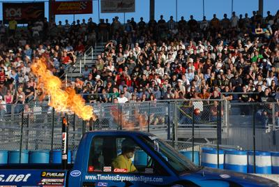 Carlisle Performance and Style Burnout Competition