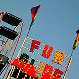 A fun thrill ride at the Clearfield County Fair