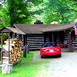 photo of a rental cabin at Cooks Forest PA State Park