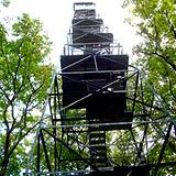 photo of the lookout fire tower at Cooks Forest PA State Park