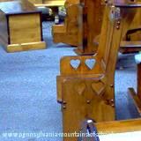 handmade furniture at craft festival