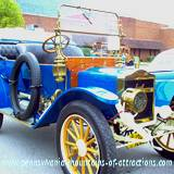 DelGrosso Parks Harvestfest antique car show