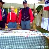 DelGrosso Parks Harvestfest civil war encampment yankees smoking cigars