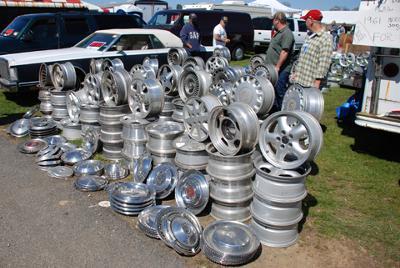 Fall Carlisle Collector Swap Meet, Car Corral & Auction Vendors