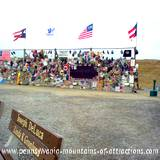 view of Flight 93 Memorial Wall