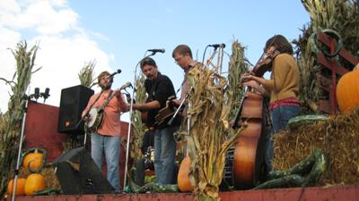 Bluegrass and Fruit Pickin in the Orchard at Frecon's Harvest Bluegrass Festival