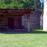 photo of historic building at Central Pennsylvania historic landmark Fort Roberdeau