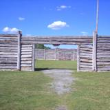 photo of the entrance to Central Pennsylvania historic landmark Fort Roberdeau