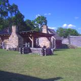photo of the fort at Central Pennsylvania historic landmark Fort Roberdeau