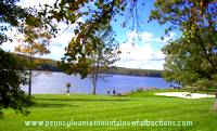 photo of Prince Gallitzin State Park View of Glendale Lake