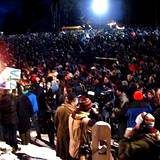 PA Winter Festival Groundhog Day in full swing