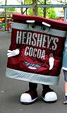 photo of Hersheyparks Hershey Cocoa character