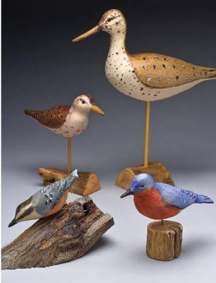 Woodcarver Robert Triplett