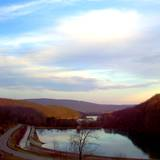 View from top of Altoona's world famous Horsehoe Curve