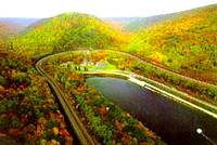 photo of the view of The World Famous Horseshoe Curve