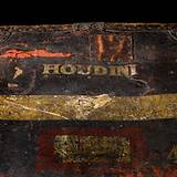 photo of one of Harry Houdini illusions on display at the Houdini Museum