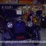 An antique car at the Huntingdon County Fair
