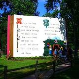 Story Book in Fantasy Forest at Idlewild Park