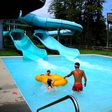 Swimming pool at Idlewild Park Soak Zone