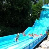 Giant water slide at Idlewild Park Soak Zone