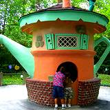 Teapot in Fantasy Forest at Idlewild Park