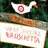 A sign advertising bruschetta at the Italian Food and Heritage Festival