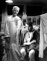 A photo clip of It's a Wonderful Life with James Stewart and Clarence the angel