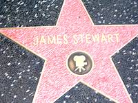 James Stewart star on the Hollywood Walk of Fame