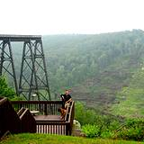 photo of overlook at Kinzua State Park