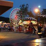 View of Knoebels Amusement Park
