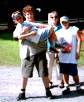 photo of me, my son and grandsons at a PA State Park